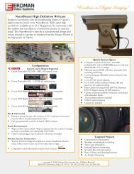 NanoBiscuit High Definition Webcam - Erdman Video Systems