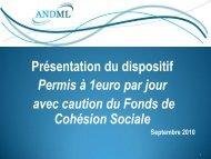 Diaporama de présentation du dispositif - ANDML