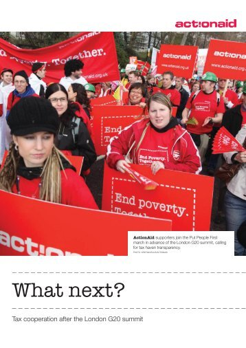 What next? - ActionAid