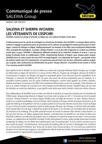SALEWA Et ShErpA WomEn