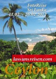 5 Sri Lanka - lass uns reisen