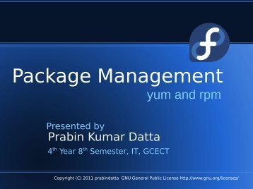 Package Management - Fedora Project