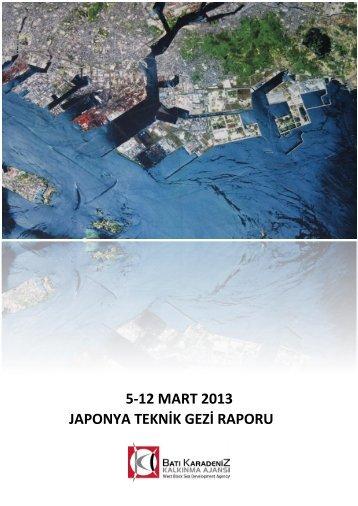 Japonya Teknik Gezi Raporu - Batı Karadeniz Kalkınma Ajansı