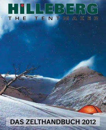 Zelthandbuch 2012 - Hilleberg The Tentmaker