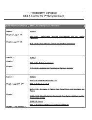 Sample Schedule.pdf - UCLA Center for Prehospital Care