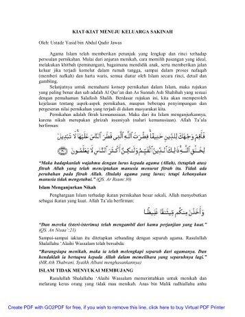kiat-kiat menuju keluarga sakinah.pdf - Abu Zubair