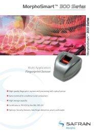 MorphoSmart® 300 Series Multi Application Fingerprint Sensor
