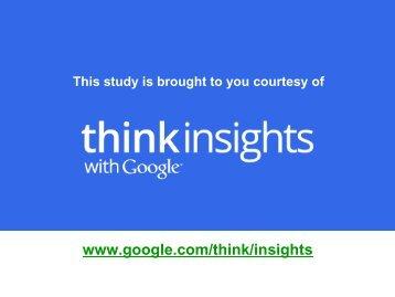 Online Diner Researchers, Google/Otx, U.S., Jan 2009