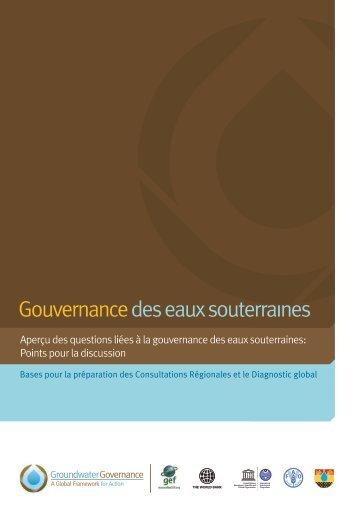 Gouvernancedes eaux souterraines - Groundwater Governance
