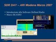 Marco IK1ODO - Radiopassioni