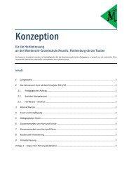 Konzeption Hortbetreuung - Montessori Grundschule Neusitz ...