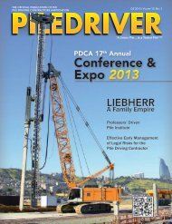 Full Issue - Pile Driving Contractors Association