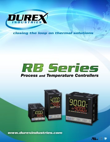 RB Series Specification Sheet - Durex Industries