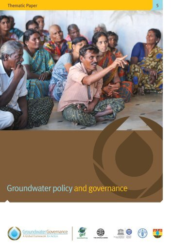 Groundwater policy and governance - Groundwater Governance