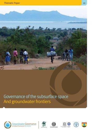 Full version - Groundwater Governance
