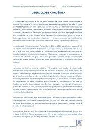 TUBERCULOSE CONGÉNITA - Secção de Neonatologia SPP - Home
