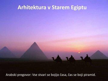Arhitektura v Starem Egiptu