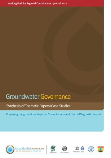 Groundwater Governance Synthesis report