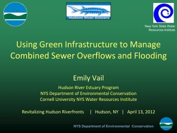 Using Green Infrastructure to Manage Combined Sewer Overflows ...