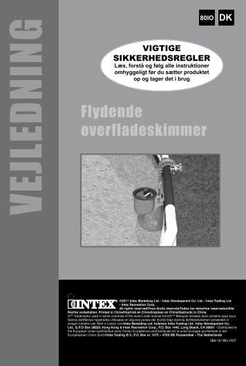 VEJLEDN IN G - Intex Nordic