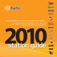 Station Guide Brochure - HD Radio Alliance