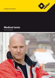Medical tents - Vetter Rescue Products