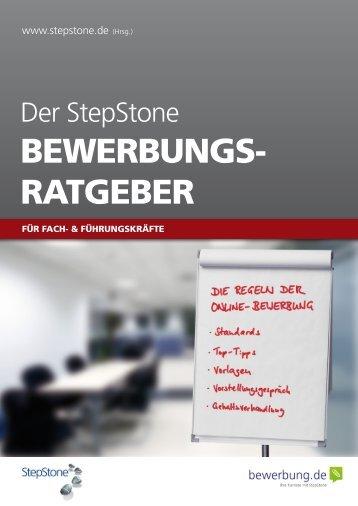 Bewerbungsratgeber: Fach- & Führungskräfte - Stepstone