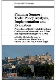 Landscape fragmentation in Italy. Indices implementation ... - Planeco