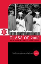 Class of 2008 - Indian Hill School District