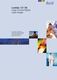 Lambda 131 HS Large Format Digital Laser Imager - Labocolor.