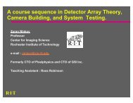 A course in CCD camera building - Better Physics