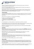 rookgasdakdoorvoeren - Metaloterm - Page 2