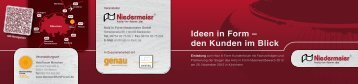 Anmeldeformular - Holz in Form Niedermeier GmbH