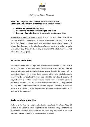 Download Press release here - PJURmed