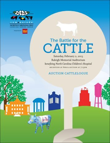 The Battle for the - CowParade North Carolina 2012