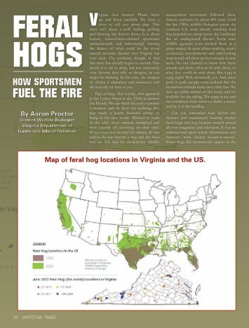 Volume 28, Issue 3 of Whitetail Times - Virginia Department of Game ...