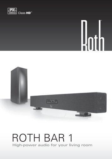 ROTH BAR 1 - Roth Audio