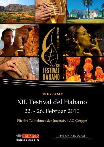 XII. Festival del Habano