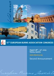 Second Announcement - American Burn Association