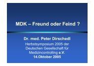 Dr. med. Peter Dirschedl - Deutsche Gesellschaft für ...