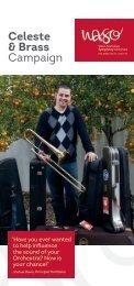 Celeste & Brass Campaign - West Australian Symphony Orchestra