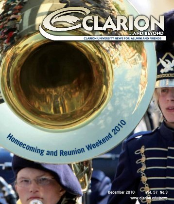 Homecoming and Reunion Weekend 2010 - Clarion University