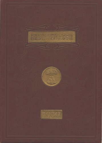 Aggie 1930 - Yearbook