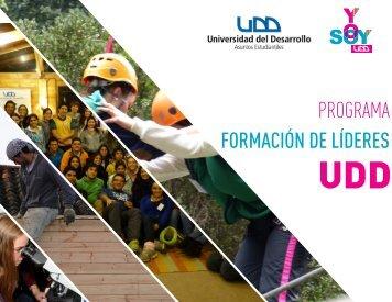 PROGRAMA FORMACIÓN DE LÍDERES - Universidad del Desarrollo