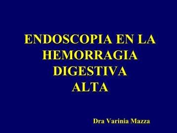 Endoscopia en la hemorragia digestiva alta. - Asociación de ...