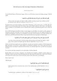 Da'wah-bæreren er ikke Ansvarlig for Opnåelsen af Resultaterne At ...