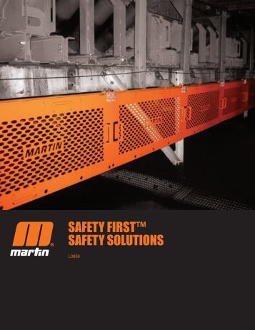 Safety Products Brochure - Martin Users! - Martin Engineering