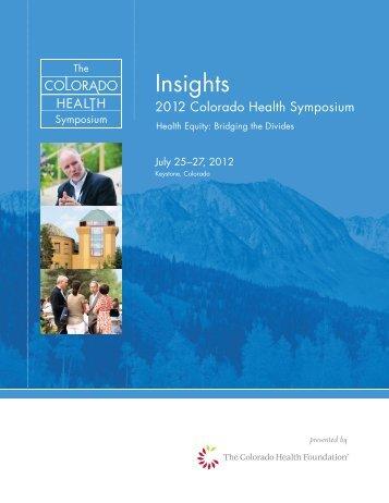 Insights - The Colorado Health Foundation