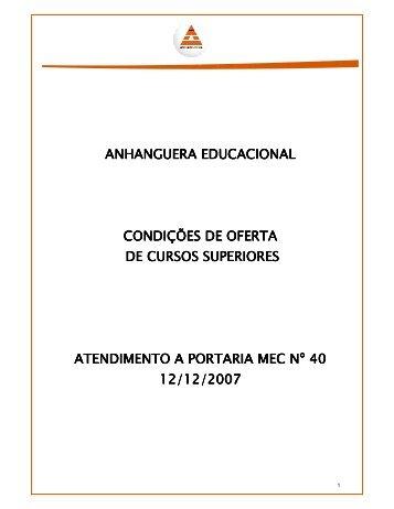 Aprovado pela Resolução Conjunta nº 001/2010 ... - Vestibulares.br