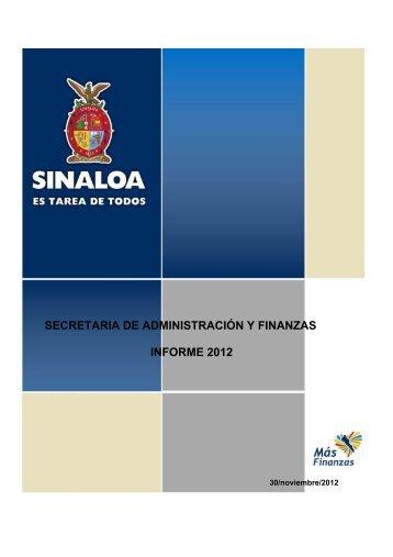 2012 - Gobierno del Estado de Sinaloa